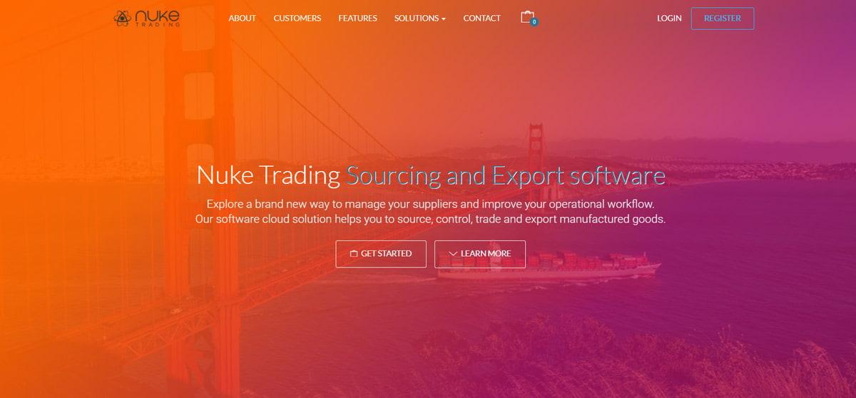 Sourcing and export software - Nuke Trading | Hong Kong