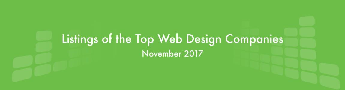 Top Web Design Companies November 2017 - Hong Kong