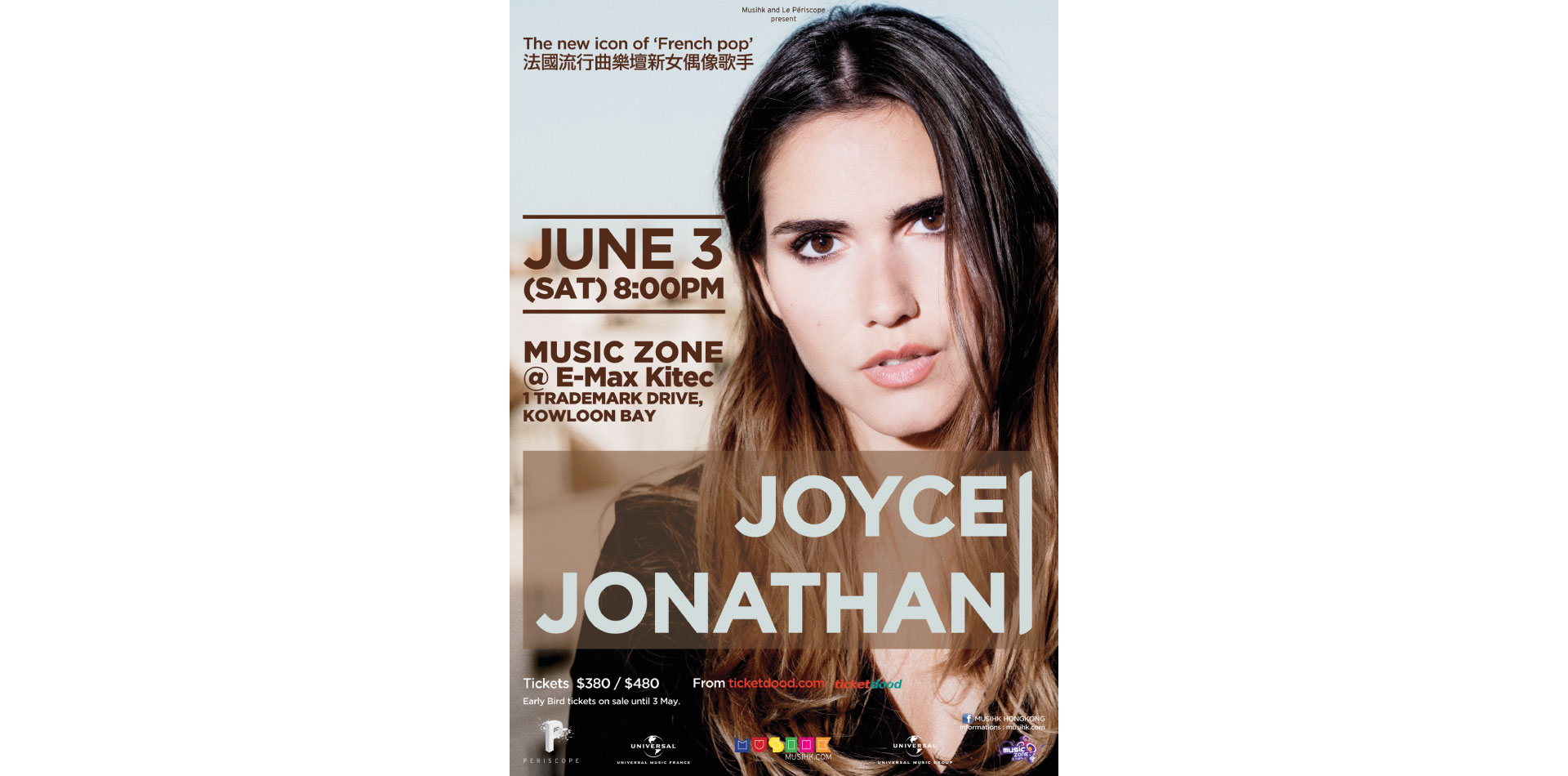 Joyce Jonathan - Asian Tour 2017